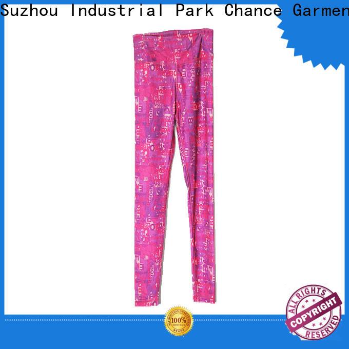 Chance round neck cotton yoga clothes wholesale for women