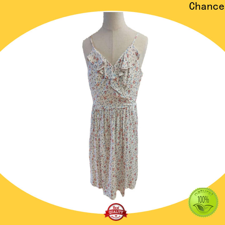beautiful casual floral dresses manufacturer for party