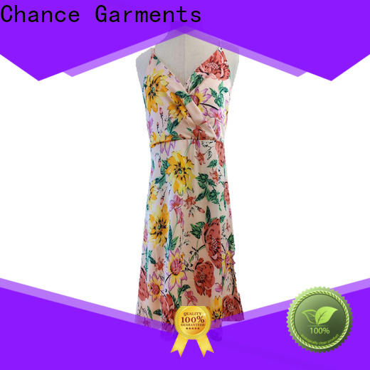 Chance casual summer dresses manufacturer for outdoor