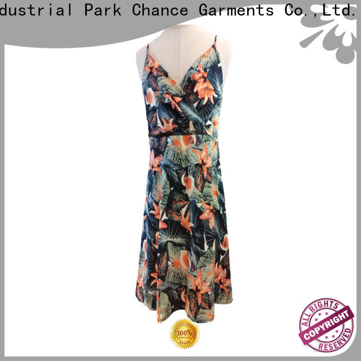 Chance casual floral dresses wholesale for party
