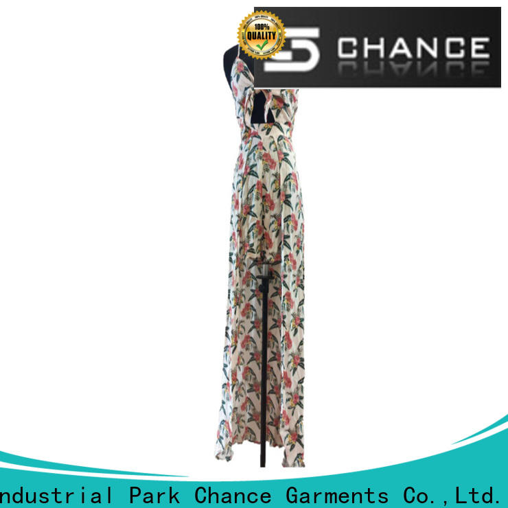 beautiful casual floral dresses supplier for outdoor