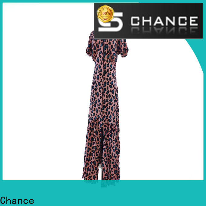 Chance women casual dresses design for outdoor