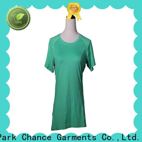 Chance short sleeve yoga apparel manufacturer for gym