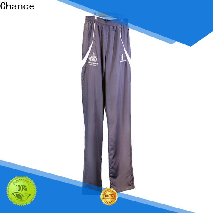 Chance mens jogging suits cotton design for sport training