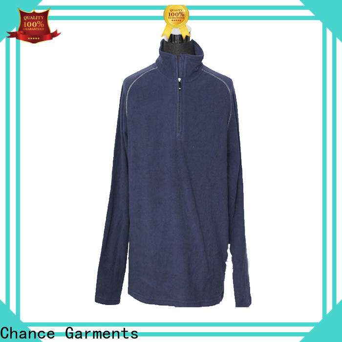 Chance sublimation polyester jackets for winter wholesale for sport