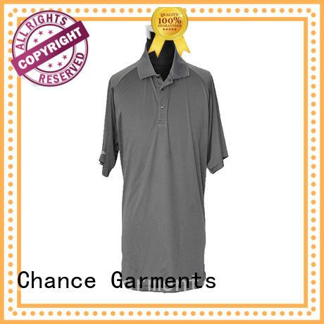 Chance cotton polo shirts design for men