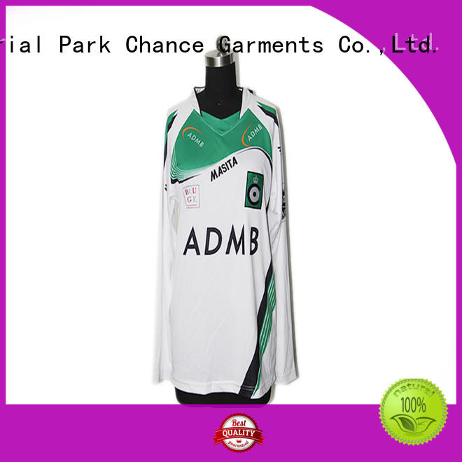Chance polyester football practice jerseys wholesale for road cycling