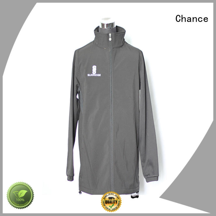Chance printed nylon jacket wholesale for winter