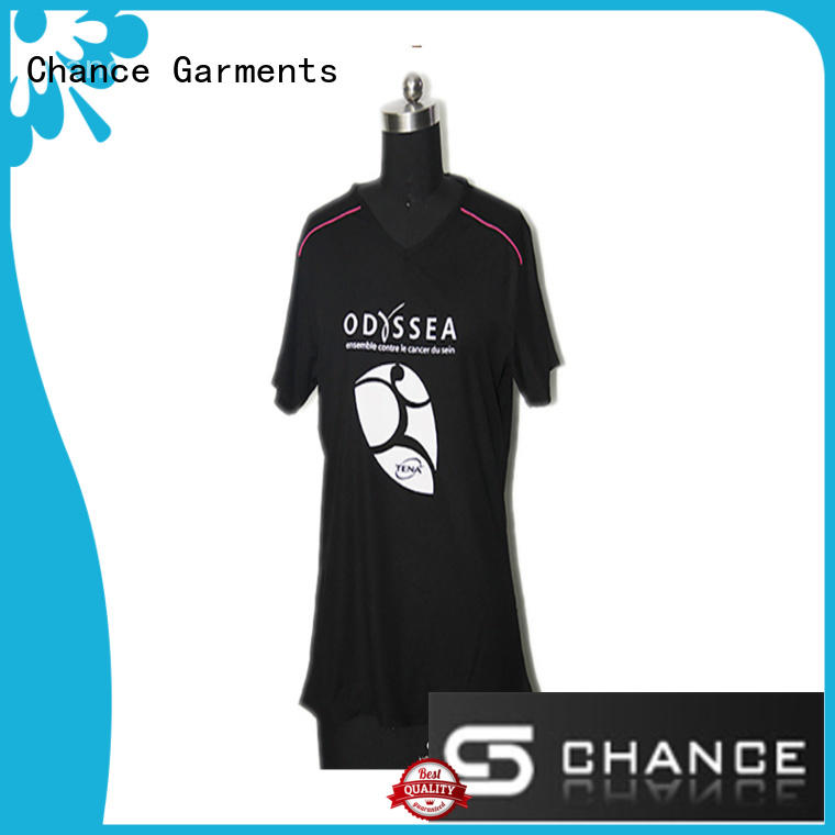 Chance short sleeves running outfit manufacturer for playground