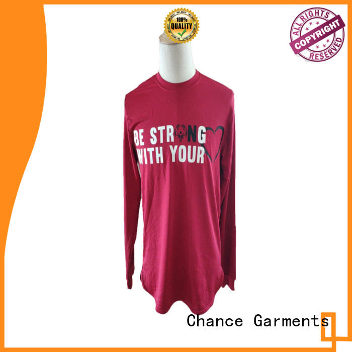 Chance polyester polo t shirts wholesale manufacturer for school
