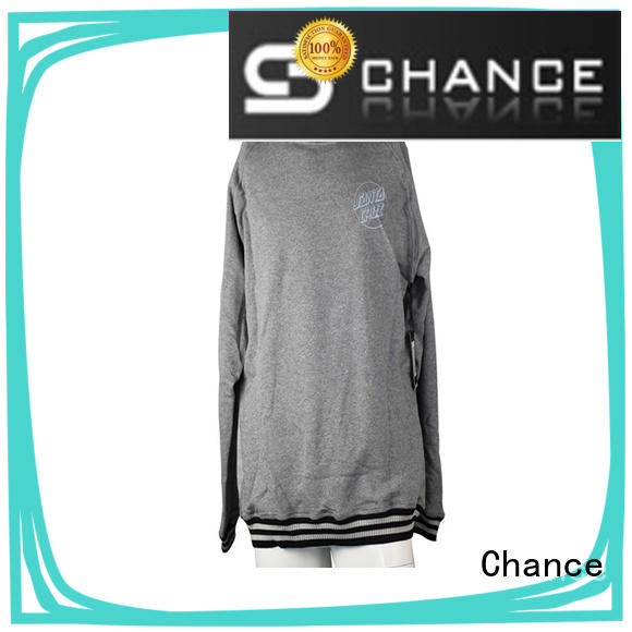 Chance wholesale sweatshirts manufacturer for sports