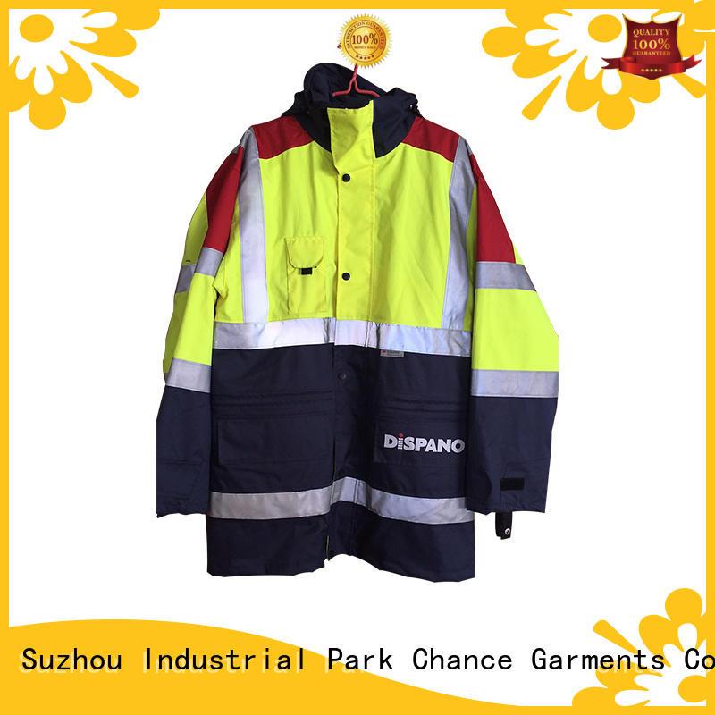 Chance reflective custom work uniforms factory foe mining