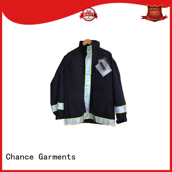 Chance workwear uniforms personalized for fireman