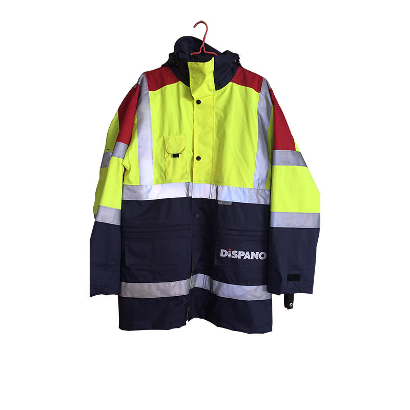 High Quality Men's Softshell Waterproof Safety Appreal Workwear Uniform Clothes