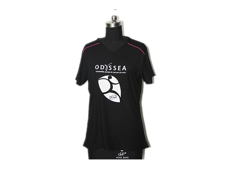 Birdeye Mesh Personalized Running Shirt Black Color Anti Static For Casual Wear