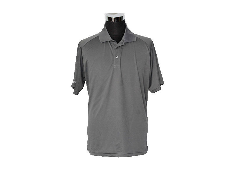100% Polyester Pique Men OEM Classic Polo Shirts American Style Logo Available