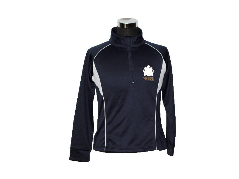 Interlock 200GSM Sports Performance Tops, 1/4 Zip Pullover Dry Fit Sport Performance Jacket