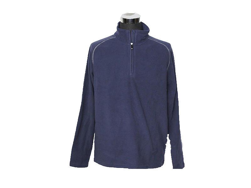 Mens 1/4 Zip Pullover Taslon Performance Top, Sports Sweatshirt Jacket