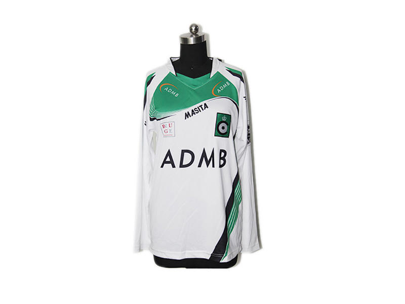 Colorful Design Custom Football Wear Football Shirt, Long Sleeve Soccer Wear Smooth Hand Feel Football Club Football Jersey