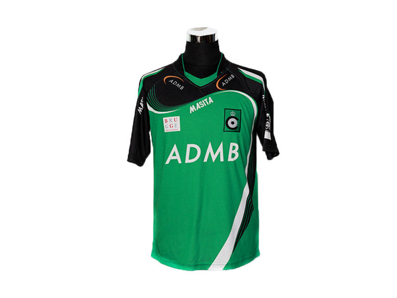 High Definition Sublimation Custom Football Shirts, Anti Fading Soccer Team Jersey