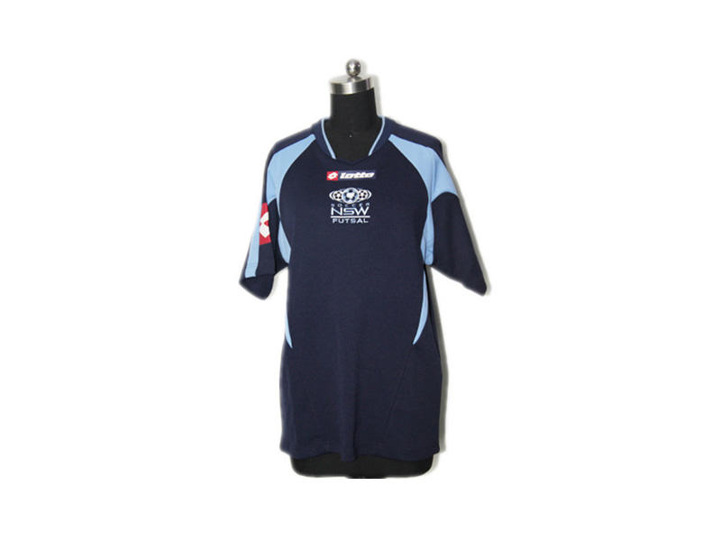 Polyester Custom Football Team Clothes, Short Sleeve Soccer Wear Football Jersey
