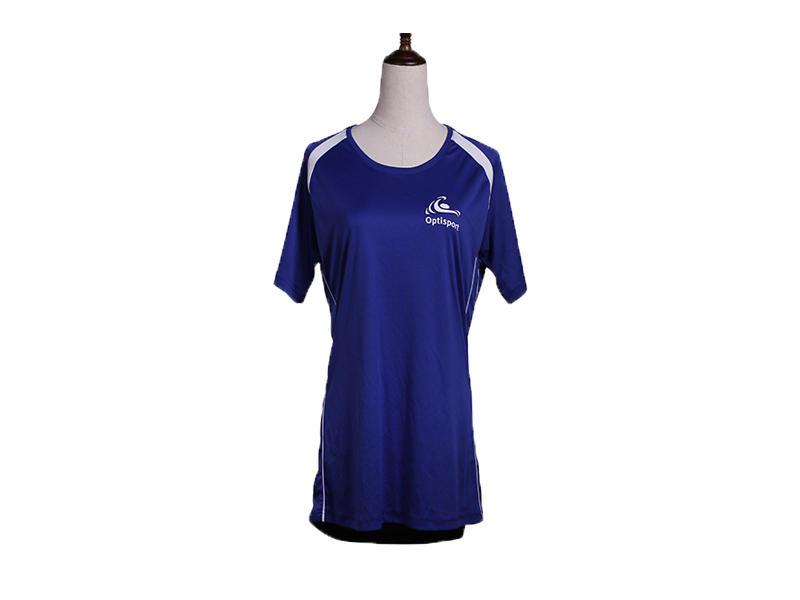 Unisex Custom Logo Printing O Neck Yoga Wear Sports T Shirts