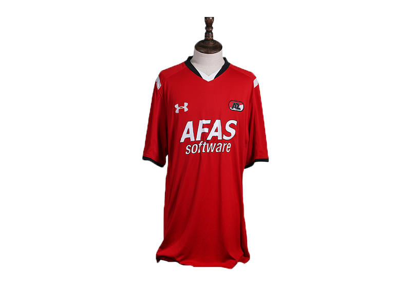 Classic V Neck Dry Fit Sports T-Shirt Custom Printing 100% Polyester Football Jersey Soccer Shirt