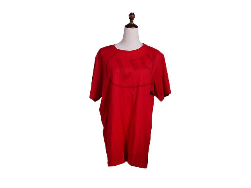 Soft Cotton Crew Neck Milk Silk Short Sleeve T-shirt For Man And Women