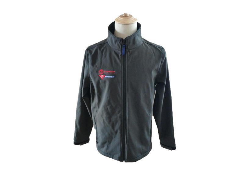 Custom Design Outdoor Sports Waterproof Jacket Full Zipper Men Windproof Softshell Jacket