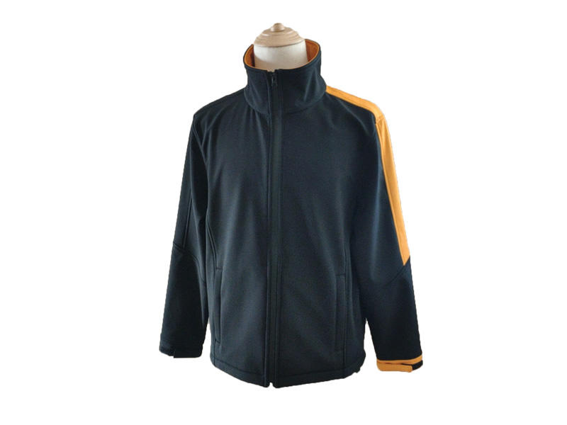 Outdoor Sports Windproof Jacket Warm Zipper Fleece Men Winter Softshell Jacket