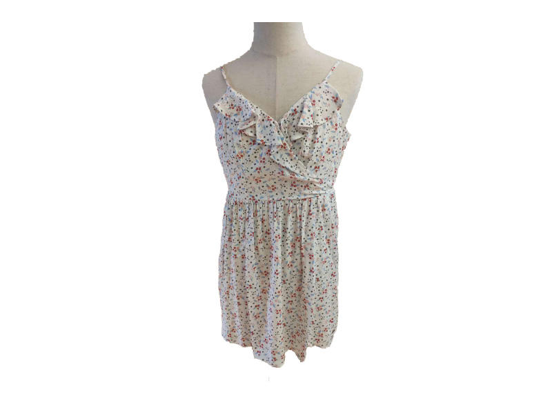 Summer Dress Beachwear Floral Print Casual Dress Women, Sleeveless Lady Strap Camisole Dresses