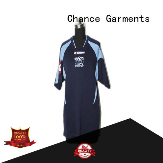 Chance rugby shirt factory for football
