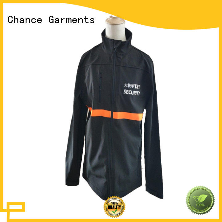 Chance mens lightweight waterproof jacket customized for sport