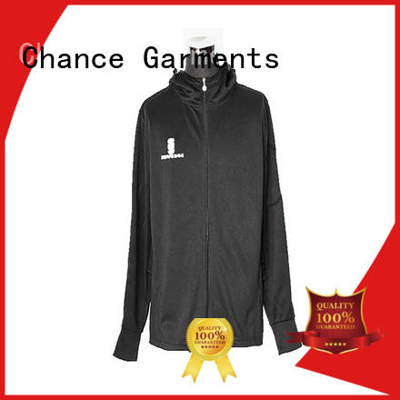 Chance sublimation polyester jacket waterproof customized for sport