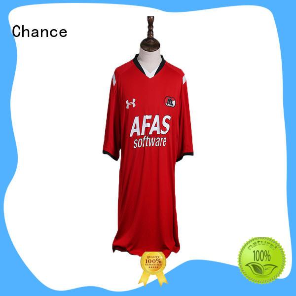 Chance custom football jerseys manufacturer for basketball