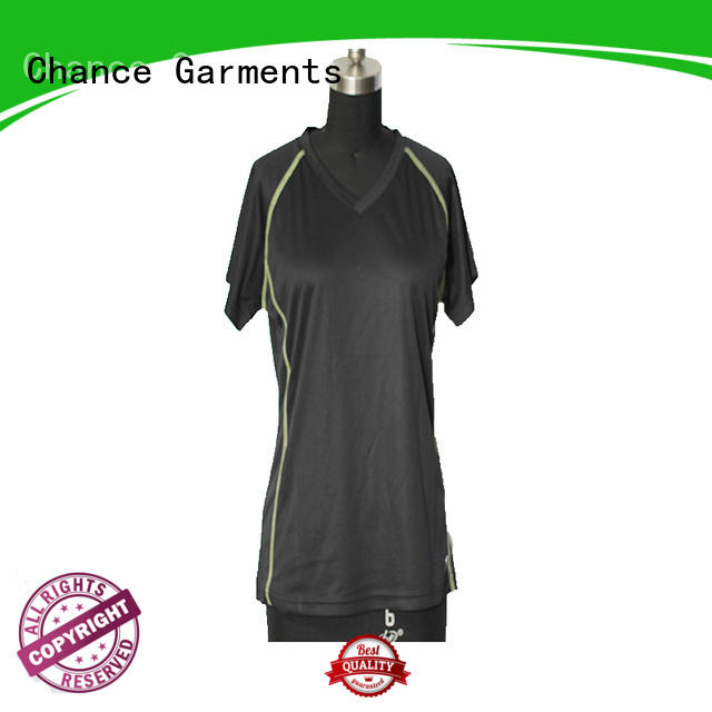Chance dry fast mens running tops customized for playground