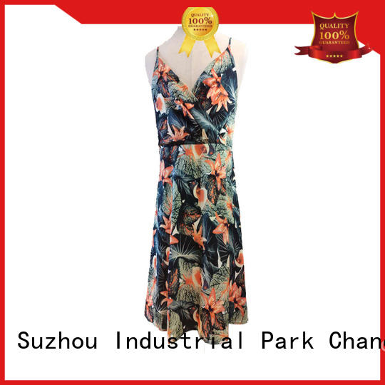 stylish casual floral dresses wholesale for women