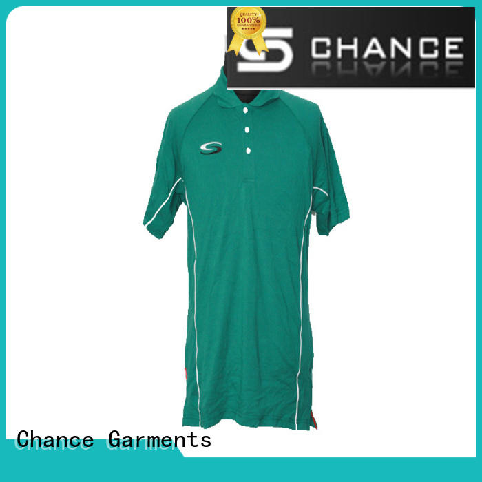Chance casual ladies polo t shirts wholesale for men