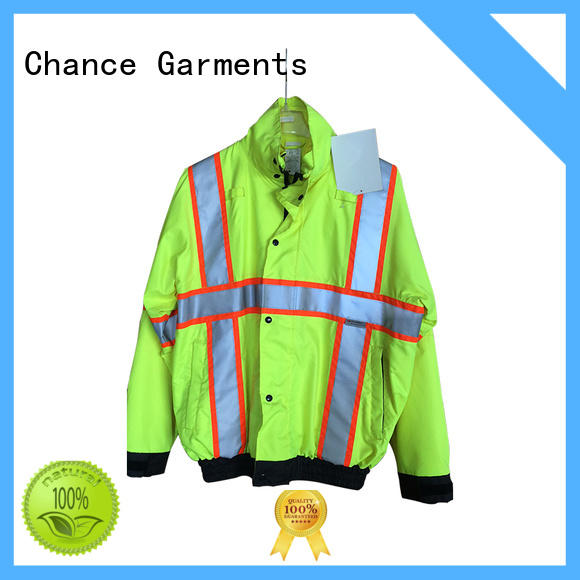 Chance reflective workwear uniforms personalized for factory
