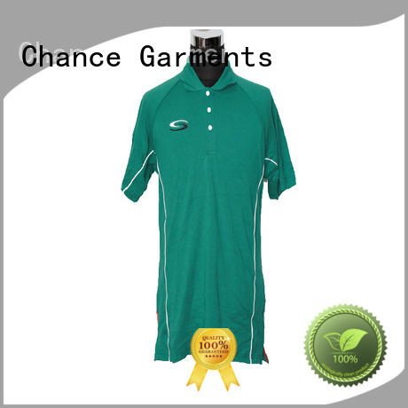 Chance classic polo shirts customized for school