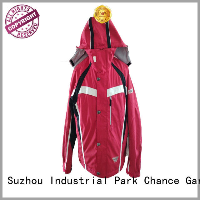 Chance lightweight waterproof jacket wholesale for sport