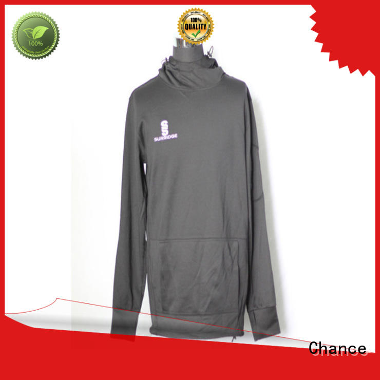 Chance custom sports sweatshirts factory price for sports