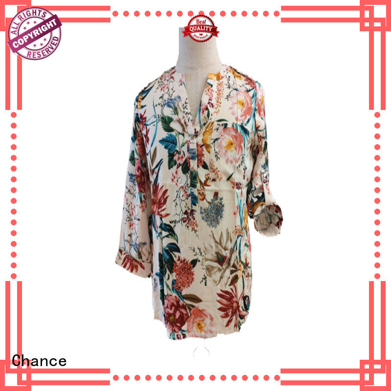Chance popular women blouses wholesale for work