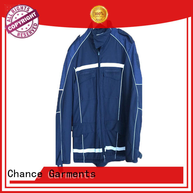 Chance custom work uniforms manufacturer for factory