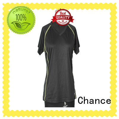 Chance breathable ladies running tops manufacturer for exercise