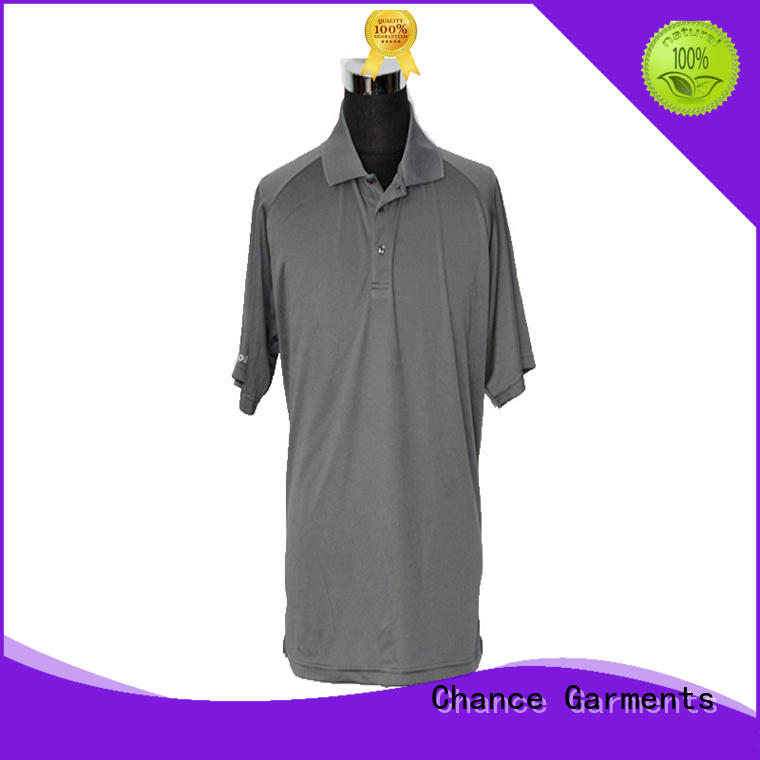 Chance ladies polo t shirts wholesale for men