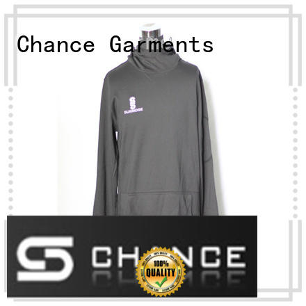 Chance girls hooded sweatshirt factory price for students