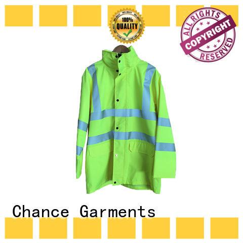Chance windproof custom work uniforms factory for fireman