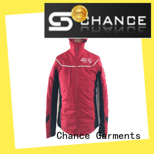 Chance polyester jackets for winter with good price for sport