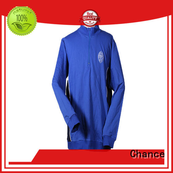 Chance polyester mens running tracksuit factory price for sport training